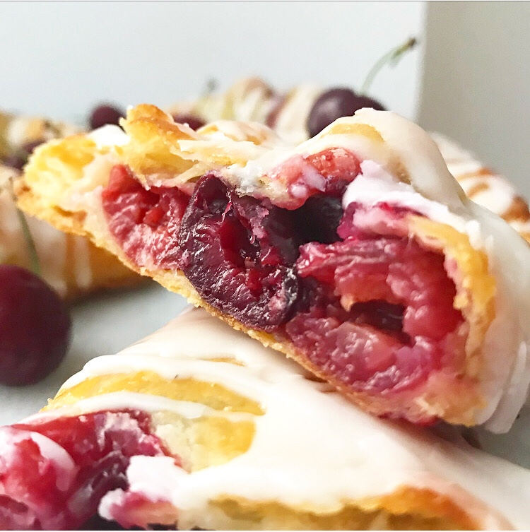 Sweet Cherry Turnovers