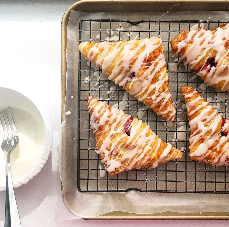 Sweet Cherry Turnovers