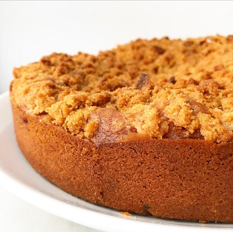 Raspberry Coffee Cake