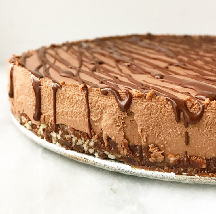Chocolate Cheesecake {Vegan & Grain-Free}