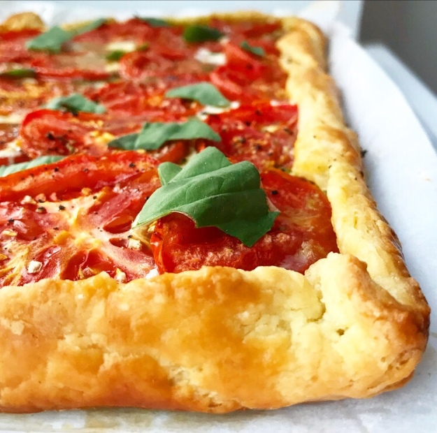 Tomato Pesto Tart