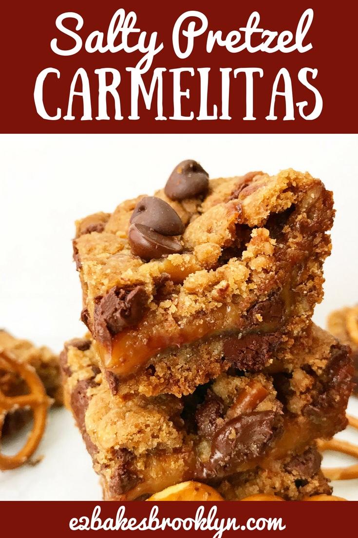 Salty Pretzel Carmelitas