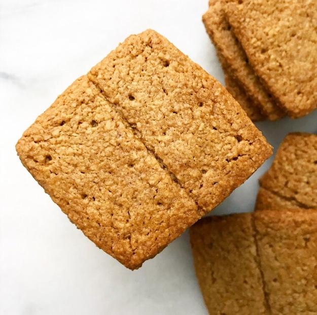 Toasted Oat Graham Crackers {Vegan & Gluten-Free}