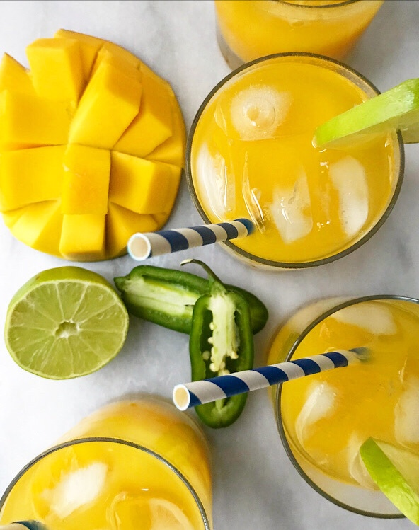 Spicy Mango Aguas Frescas