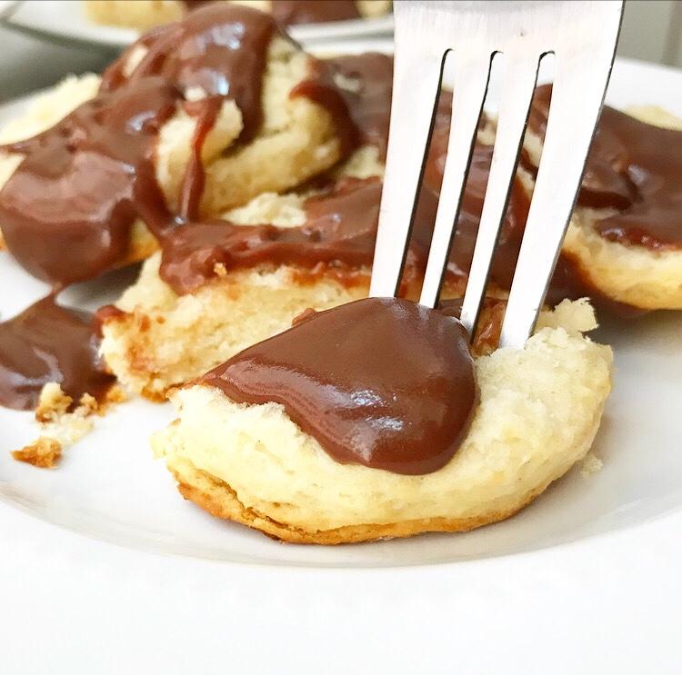 Buttermilk Biscuits & Chocolate Gravy