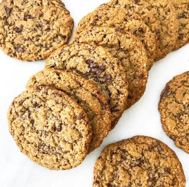 Chewy Chocolate Chunk Cookies {Vegan, Gluten-Free, Nut-Free}