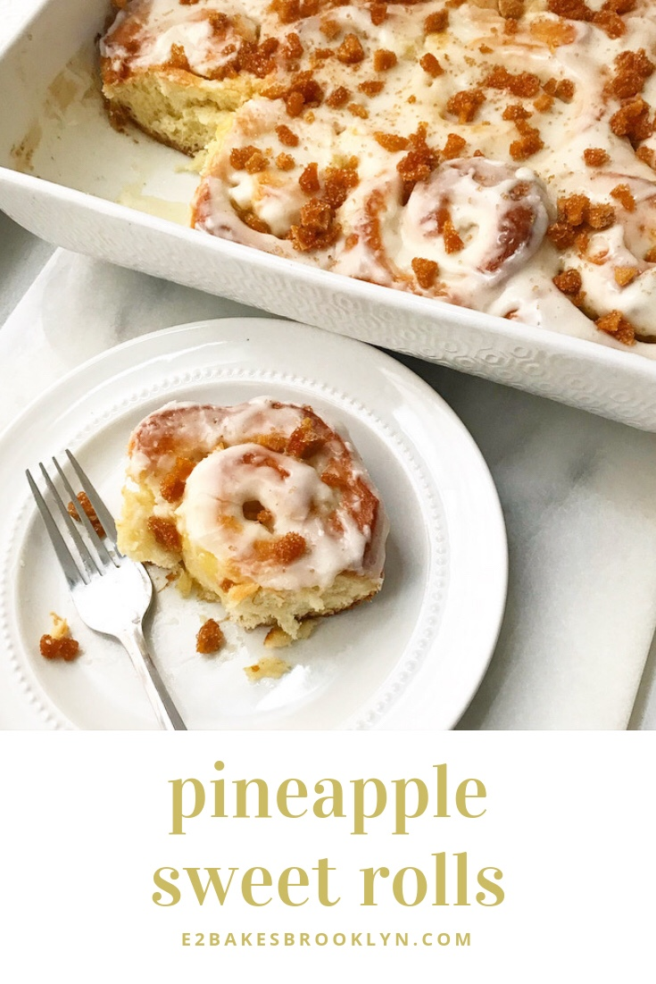 Pineapple Sweet Rolls