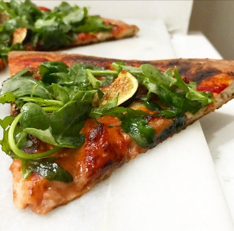 Prosciutto, Fig & Arugula Pizza