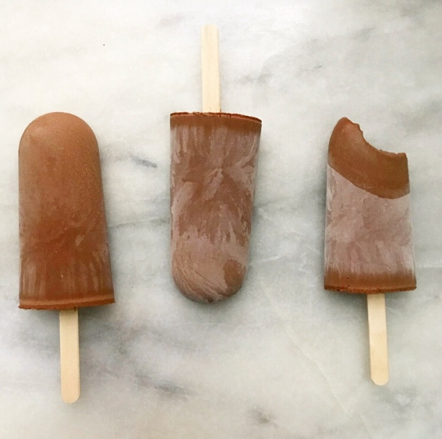 Five Ingredient Fudgsicles