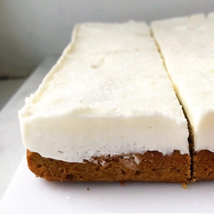 Pumpkin Spice Latte Cookie Squares