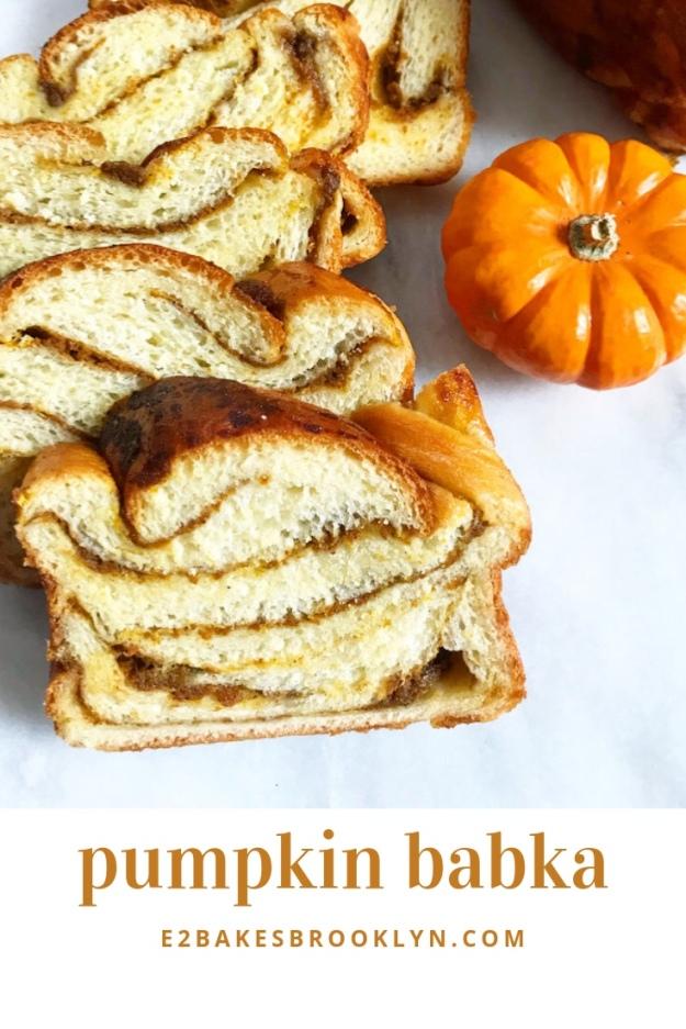Pumpkin Babka