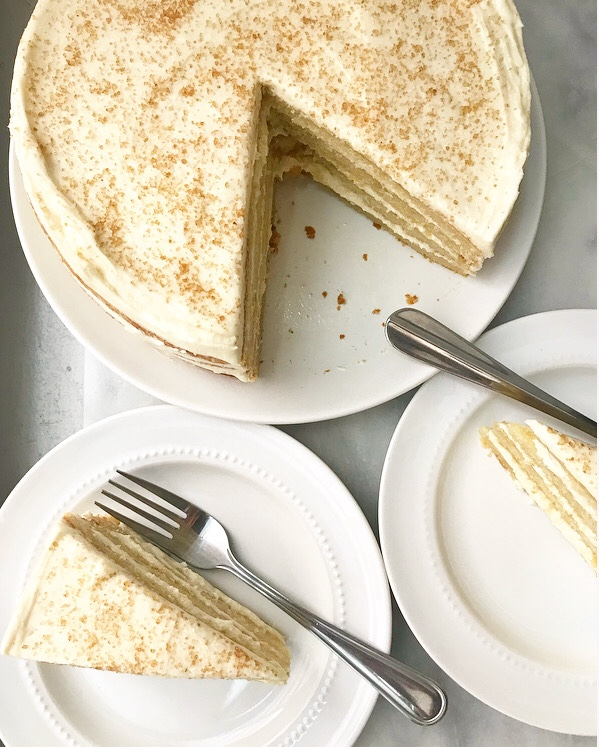 Maple Layer Cake
