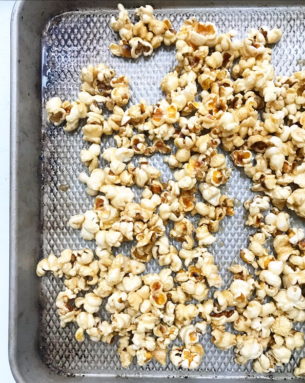 Salty Maple Caramel Corn