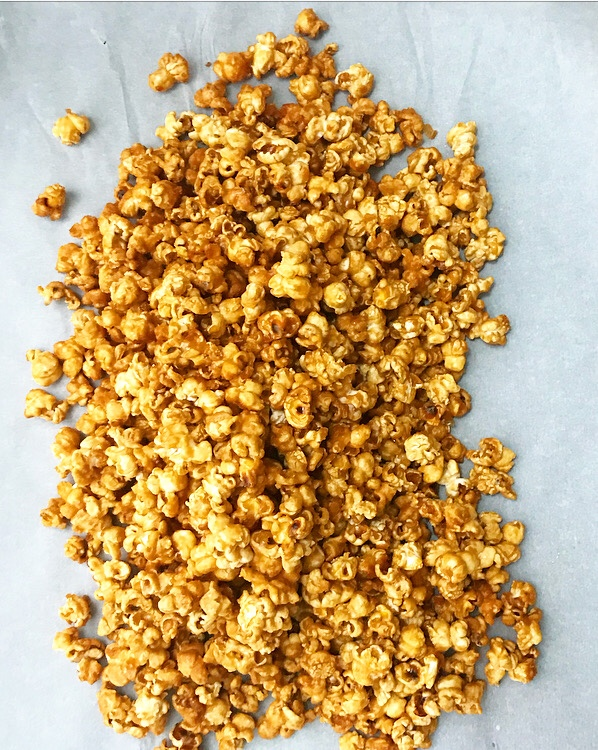 Salty Maple Caramel Corn