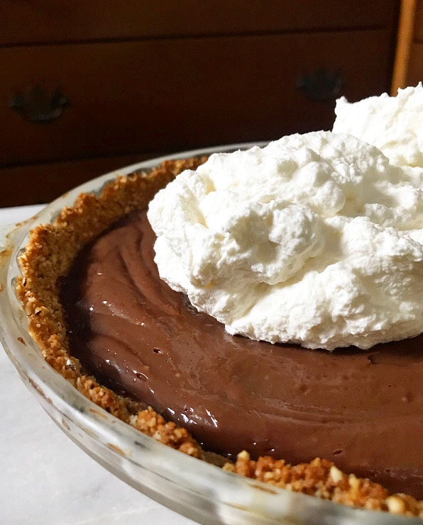 Nutella Cream Pie