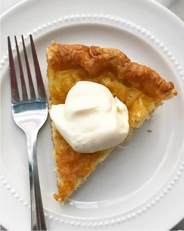 Coconut Custard Pie