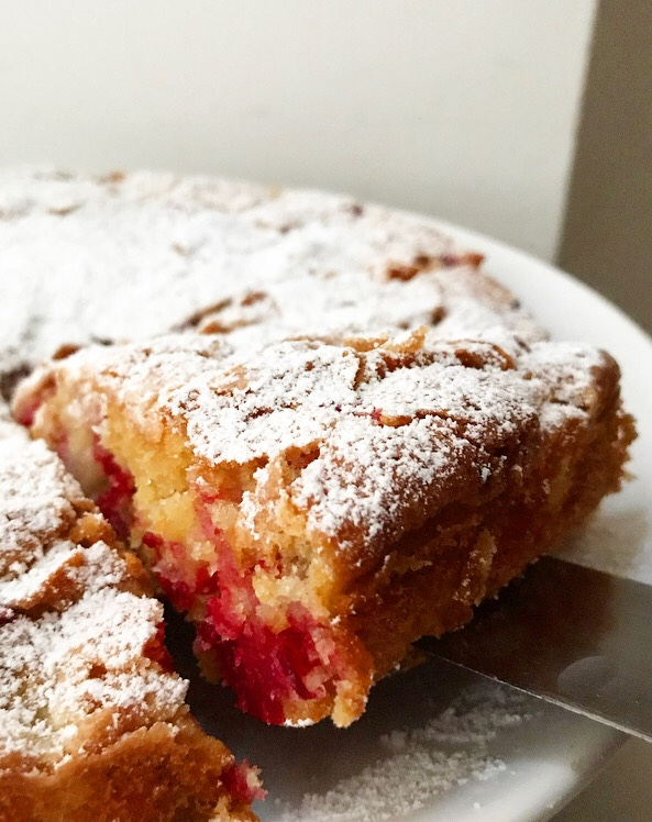 Pear & Cranberry Torte