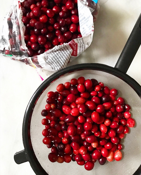 Apple Cider Cranberry Sauce