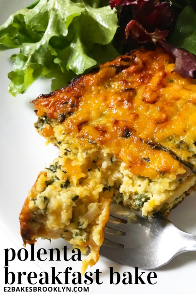 Polenta Breakfast Bake
