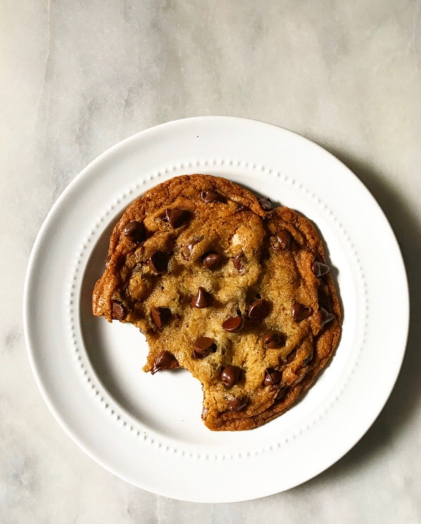 One Big Chocolate Chip Cookie