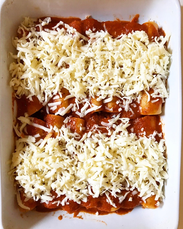 Pork Enchiladas with Smoky Chipotle Sauce