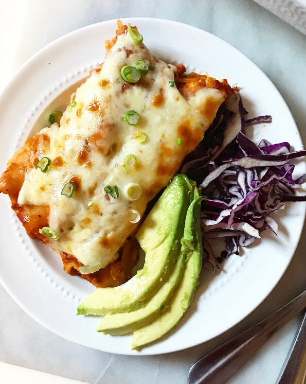 Pork Enchiladas with Smoky Chipotle Sauce