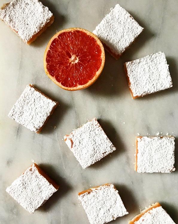 Grapefruit Bars