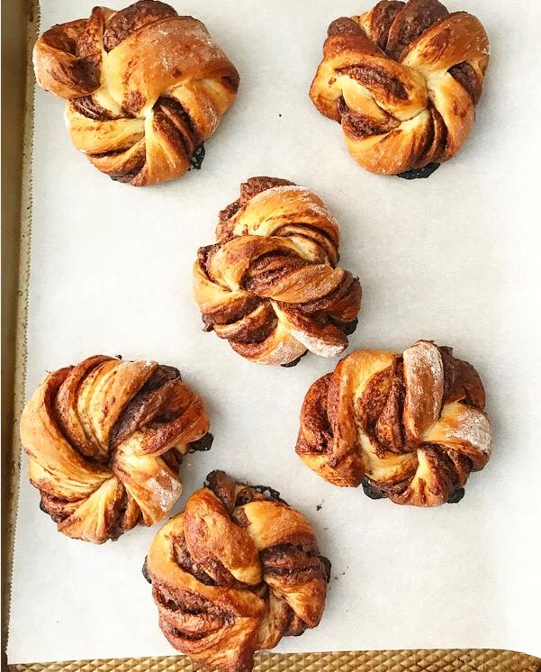 Nutella Morning Buns