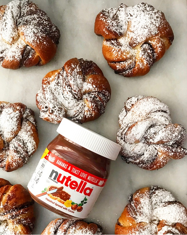 Nutella Morning Buns