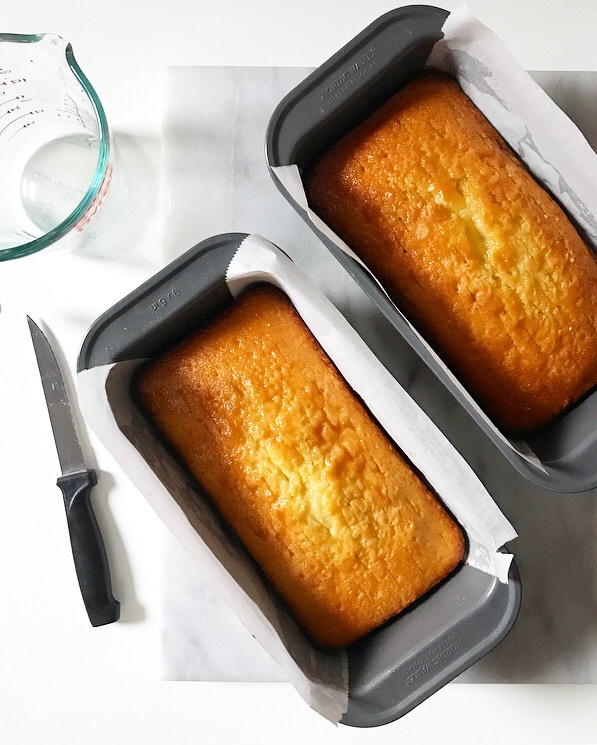 Meyer Lemon Drizzle Cakes