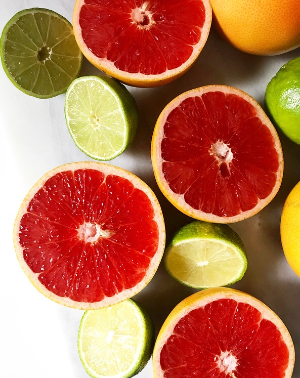 Sparkling Grapefruit-Lime Aguas Frescas