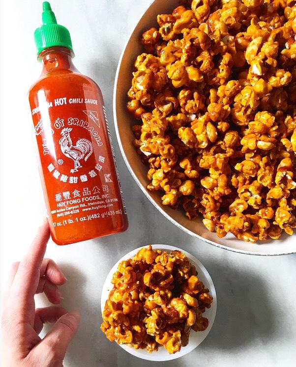 Sriracha Cracker Jack