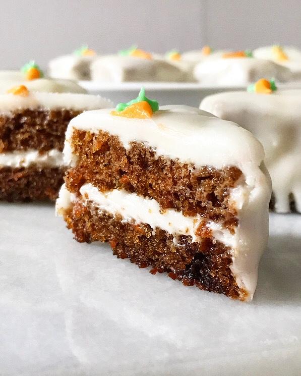 Carrot Cake Petit Fours