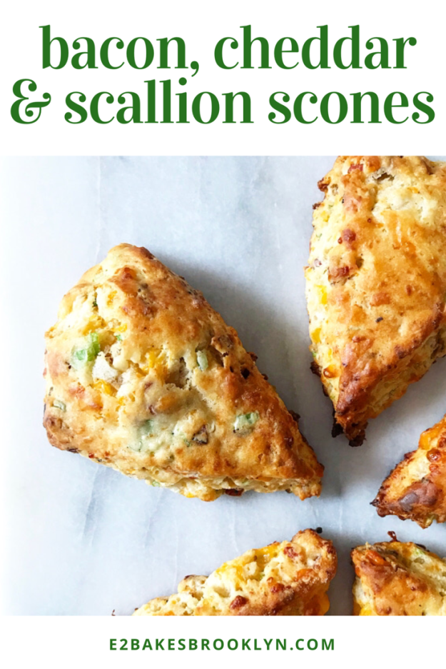 Bacon, Cheddar & Scallion Scones
