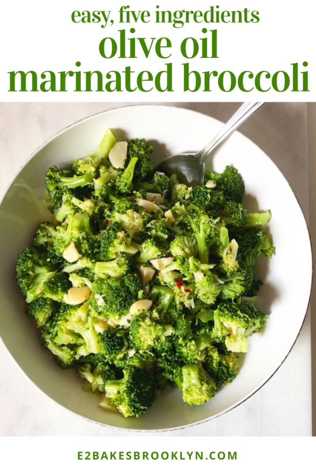 Olive Oil Marinated Broccoli