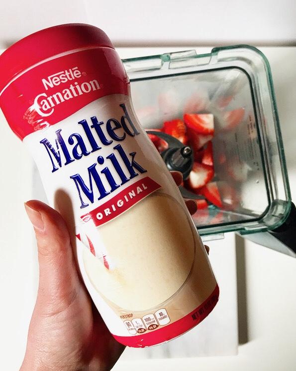 Fresh Strawberry Malts