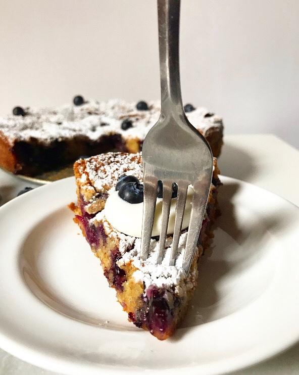 Blueberry Torte