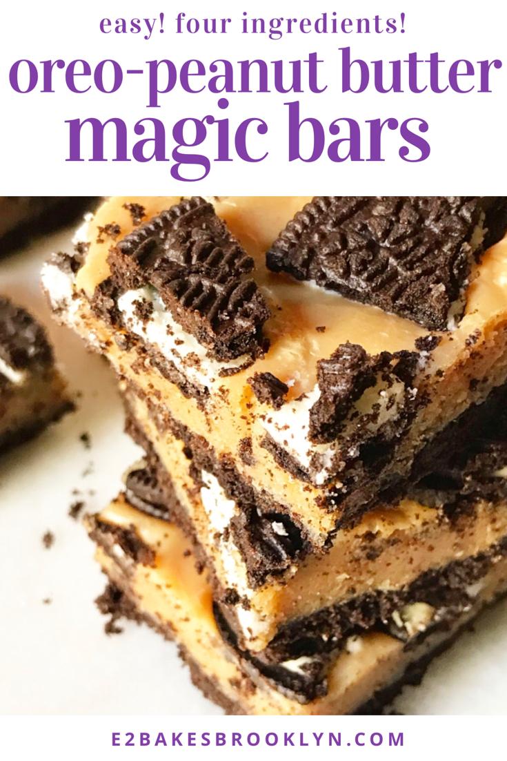 Oreo-Peanut Butter Magic Bars
