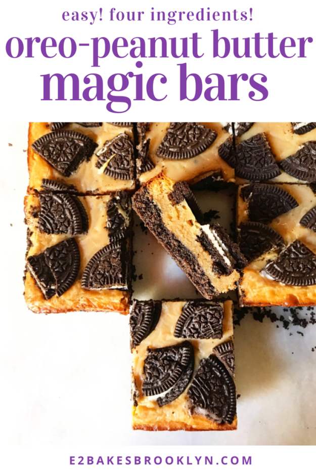 Oreo-Peanut Butter Magic Bars