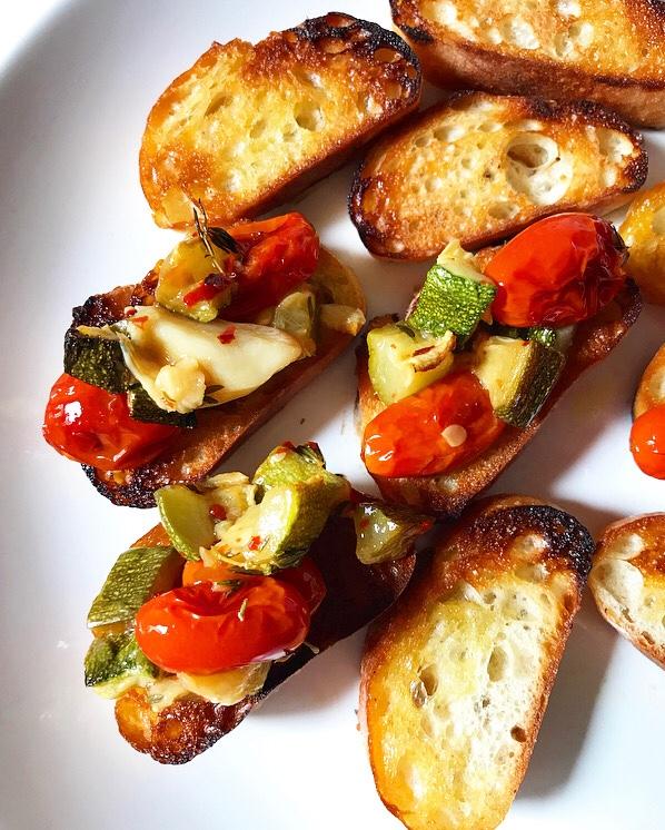 Tomato & Zucchini Confit