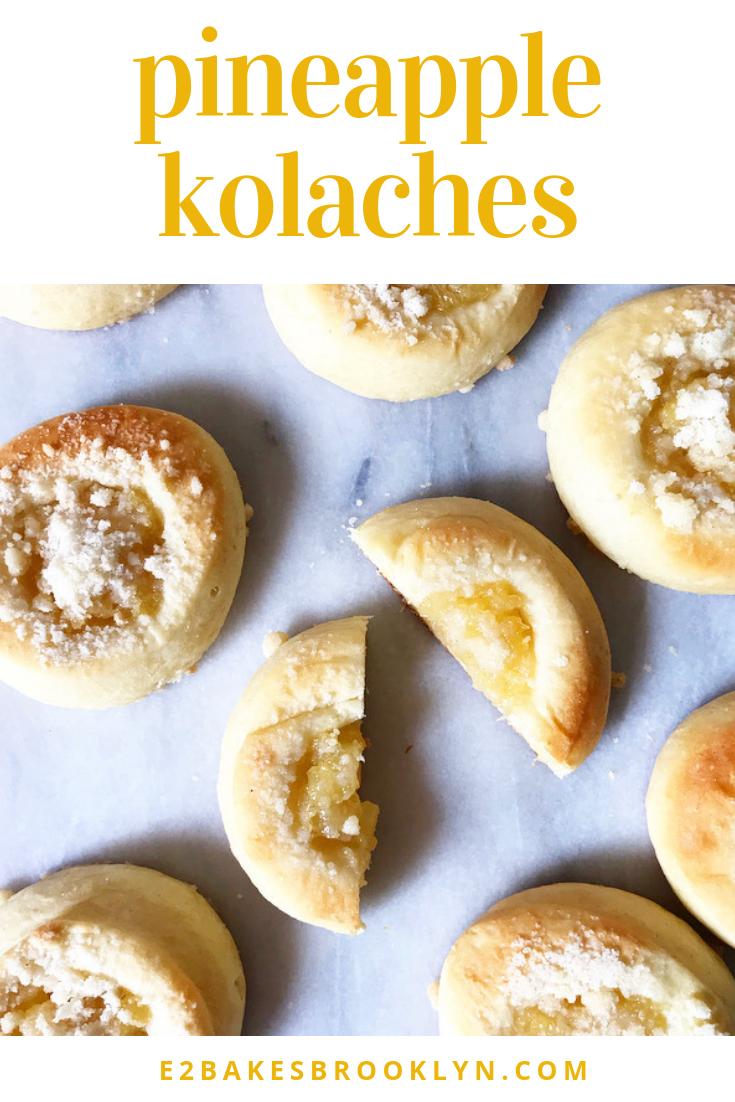 Pineapple Kolaches