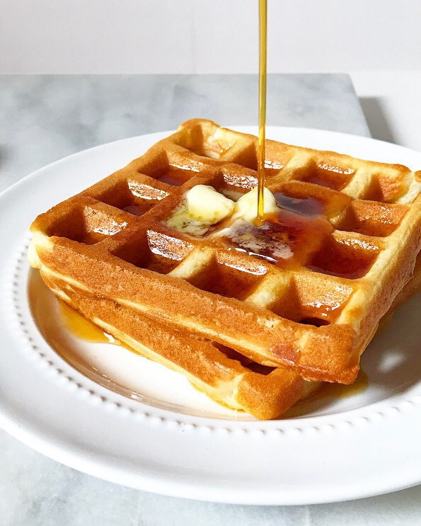 Sour Cream Waffles