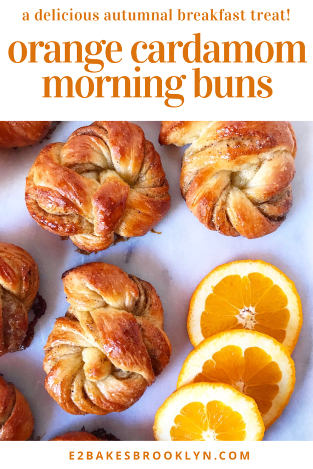 Orange Cardamom Morning Buns