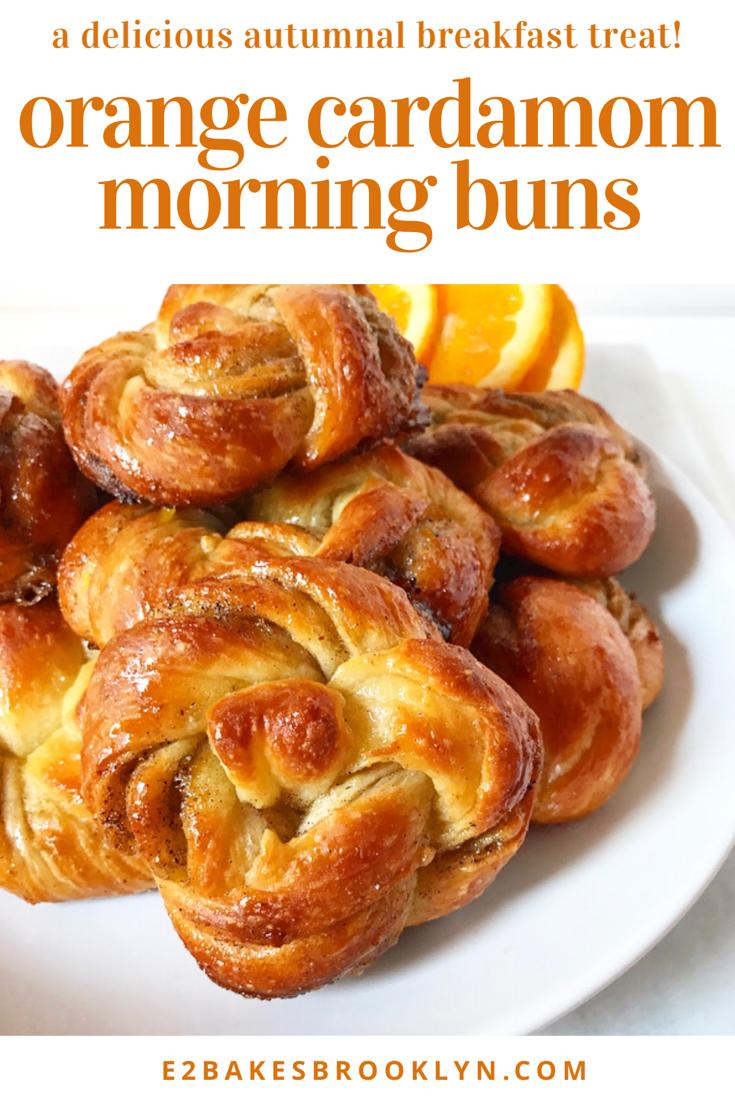 Orange Cardamom Morning Buns