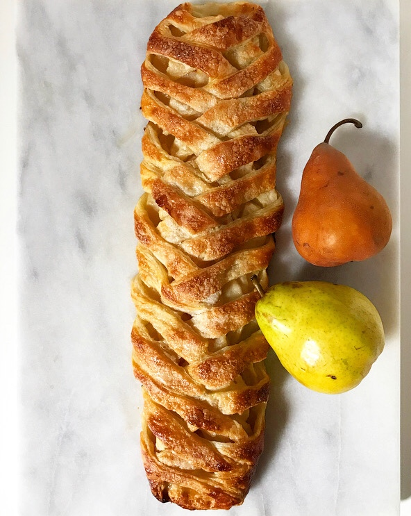 Pear Pastry Braid