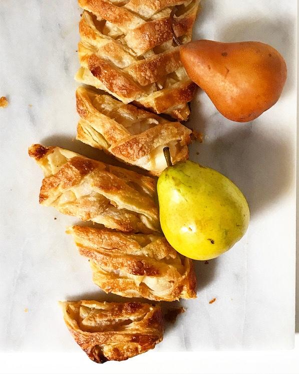 Pear Pastry Braid