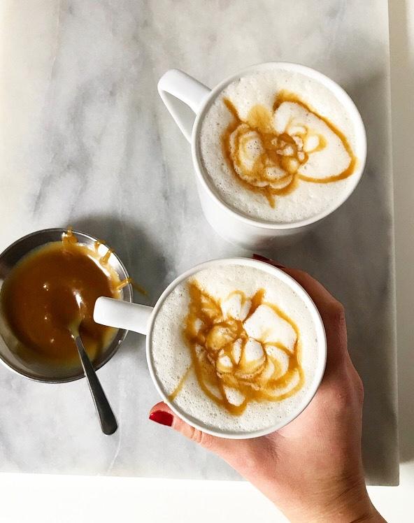 Hot Butterscotch {Seasonal Beverage}