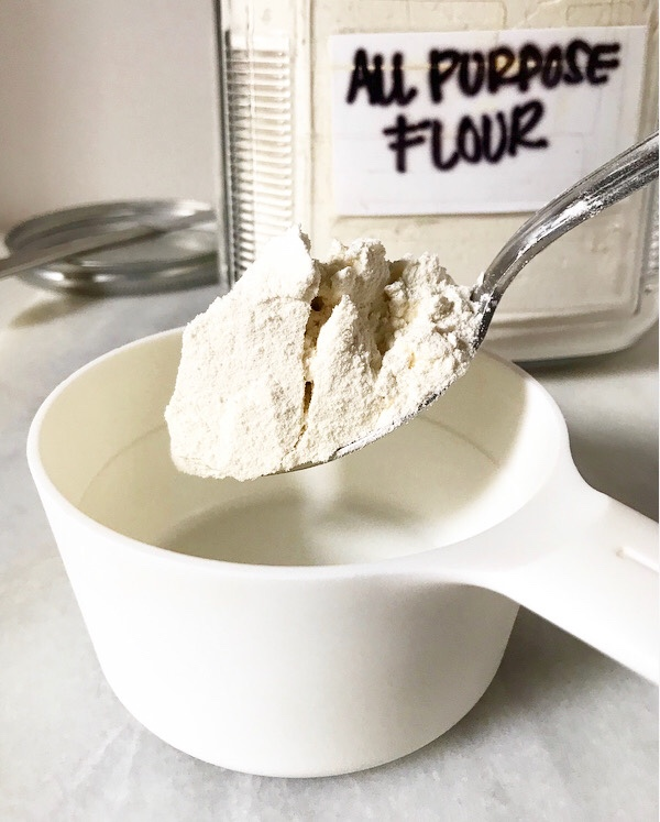 How to Measure Flour {Spoon & Level Method}