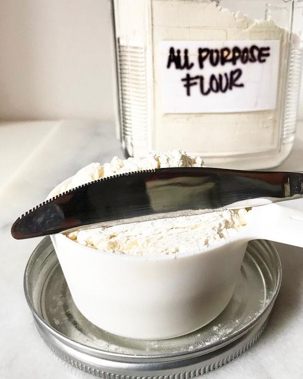 How to Measure Flour {Spoon & Level Method}