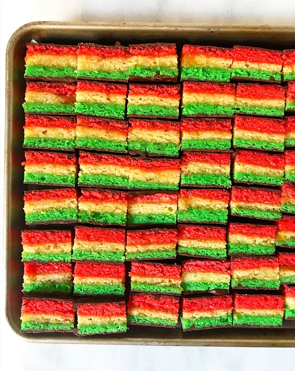 Flourless Italian Rainbow Cookies